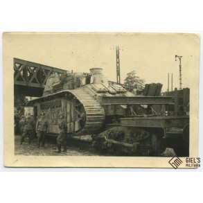 "Photo of the ""Champagne"" Char 2C bis"