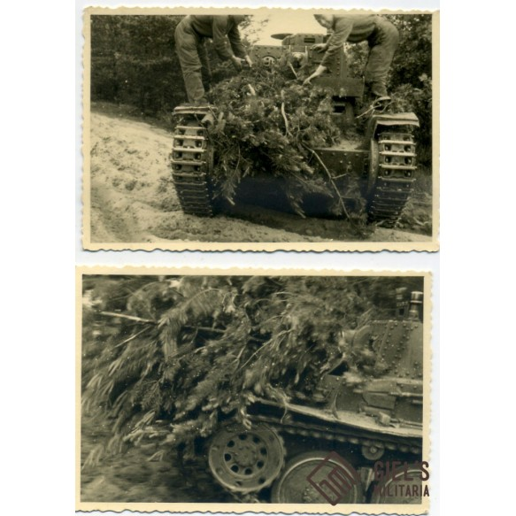 "3 early panzer photos ""Fahrschüle"""