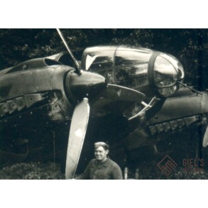 Private snapshot He111on the ground