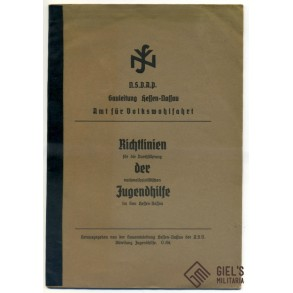 NSV brochure for youth help in Gau Hessen-Nassau