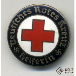 German red cross female helper pin