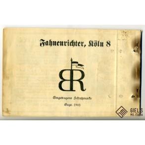Period catalog of Bernard Richter, flag factory!