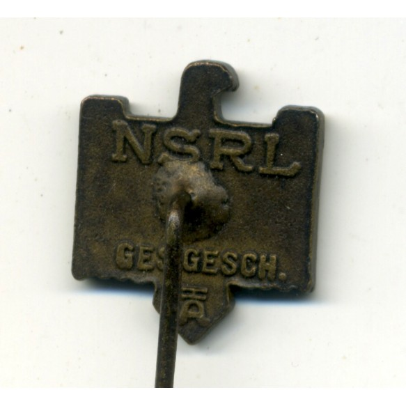 NSRL membership stickpin by H. Aurich