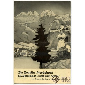 KdF holiday brochure 1938