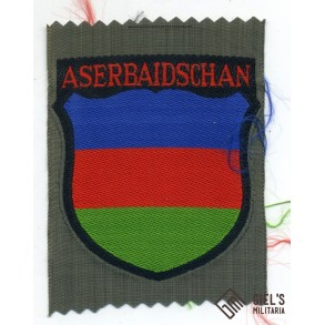 Aserbaidschanian arm shield for Aserbaidschan Wehrmacht volunteers
