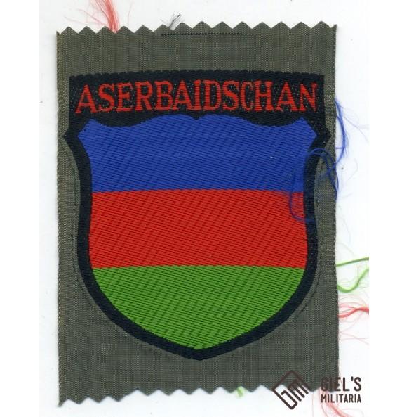 Aserbaidschanian arm shield for Aserbaidschan Wehrmacht volunteers