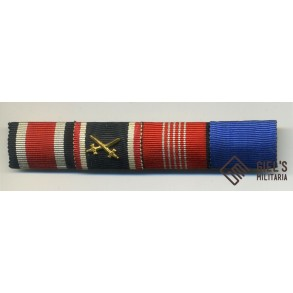 4 place ribbon bar with Olympia medal