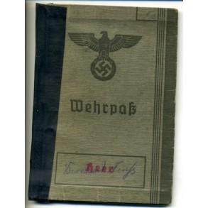 Wehrpass to B. Neufs, WBiB, Westfeldzug, KIA Russia 1941