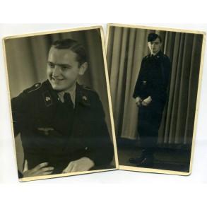 2 panzer portrait photos