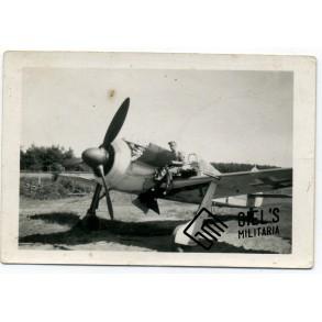 Private snapshot FW190, West Fischbach