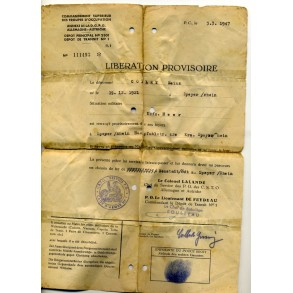 Soldbuch to Uffz, Pz. Gren Rgt 361, KVK1, EK2 Rimini, Italy 1944!!!