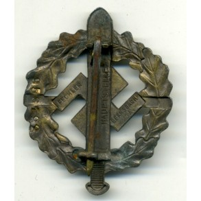 SA sport badge in bronze by Fechler, personal award number 953192