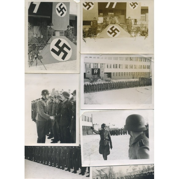 7 private snap shots SS-Polizei oath swearing