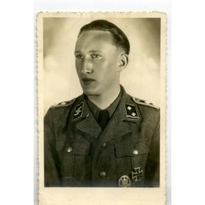 Portrait decorated SS-Hauptscharführer