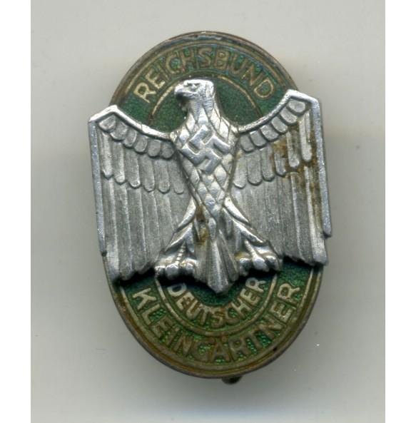 """Membershipspin RDK """"Reichsbund Deutscher Kleingärtner"""" by C. Poellath"""