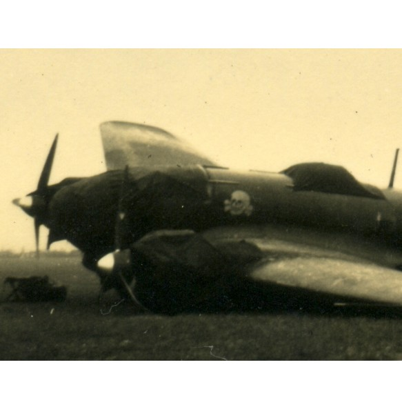2 private snapshots crashed He111 KG54, 1940