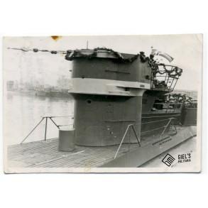 Private snapshot U-boat at harbour Danzig