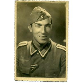 Portrait decorated NCO