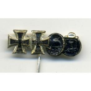 German Cross in Gold 1957 miniature set.
