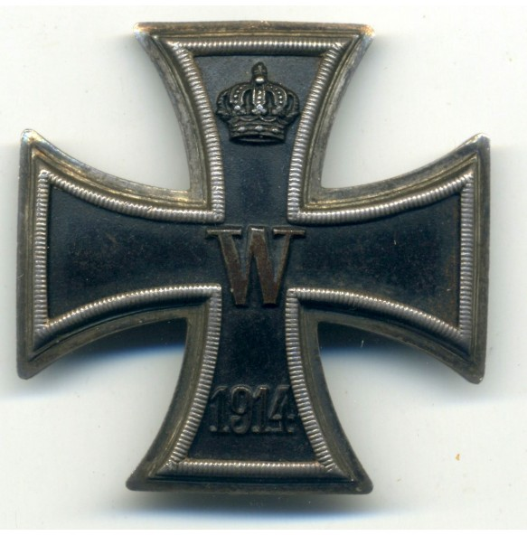 "WW1 Iron Cross 1st class with ""teeth"" attachment"